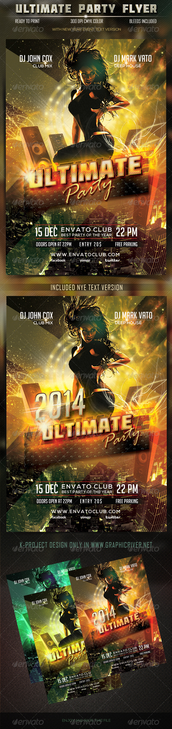 GraphicRiver Ultimate Party Flyer 6138498