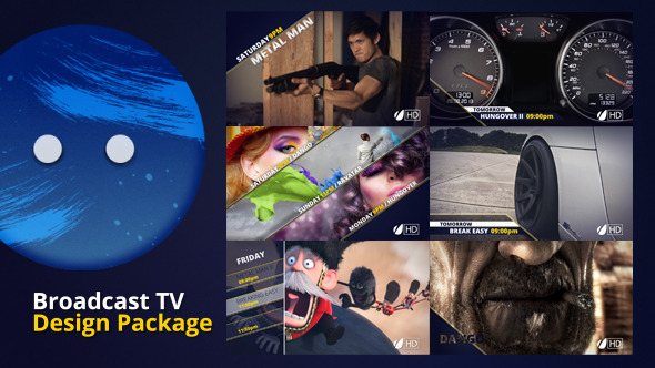Broadcast TV Design Package