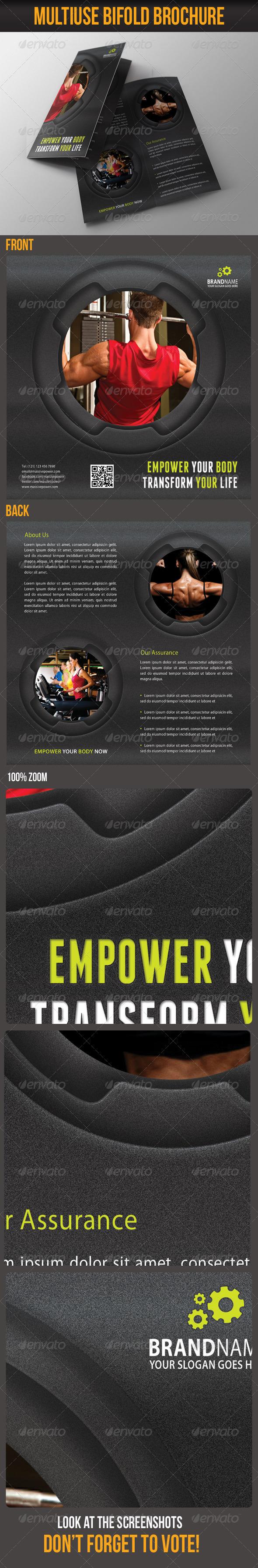 GraphicRiver Multiuse Bifold Brochure 12 6097753