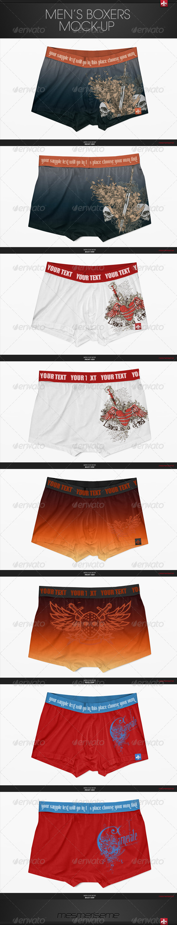 GraphicRiver Men s Boxers Mock-up 6139104