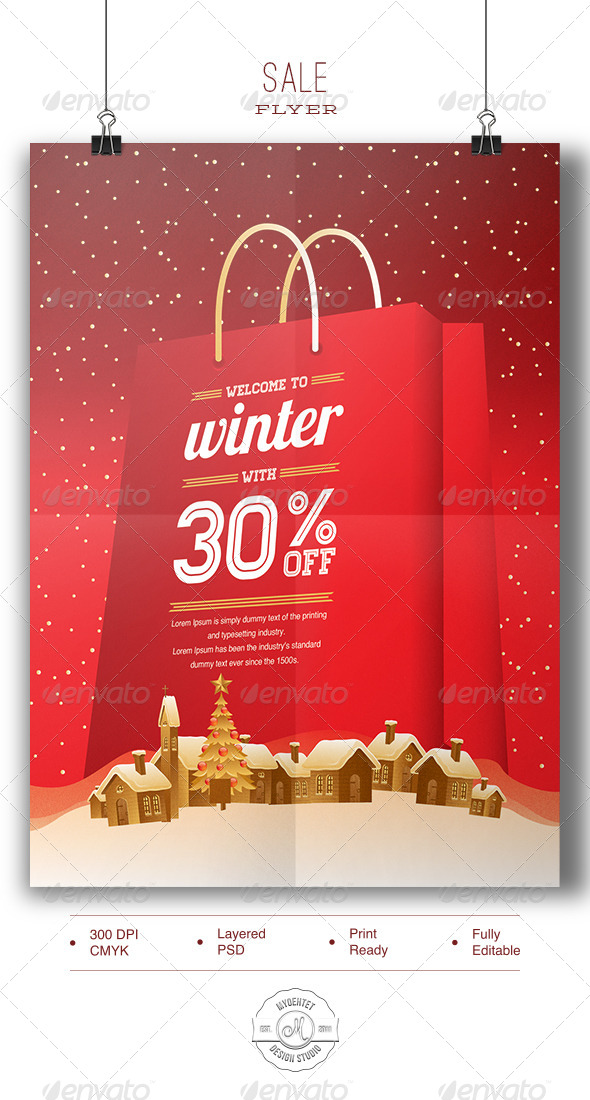 GraphicRiver Sale Flyer 6139340
