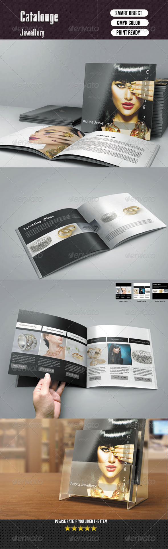 GraphicRiver Square Bifold Template 8 Pages 6139446
