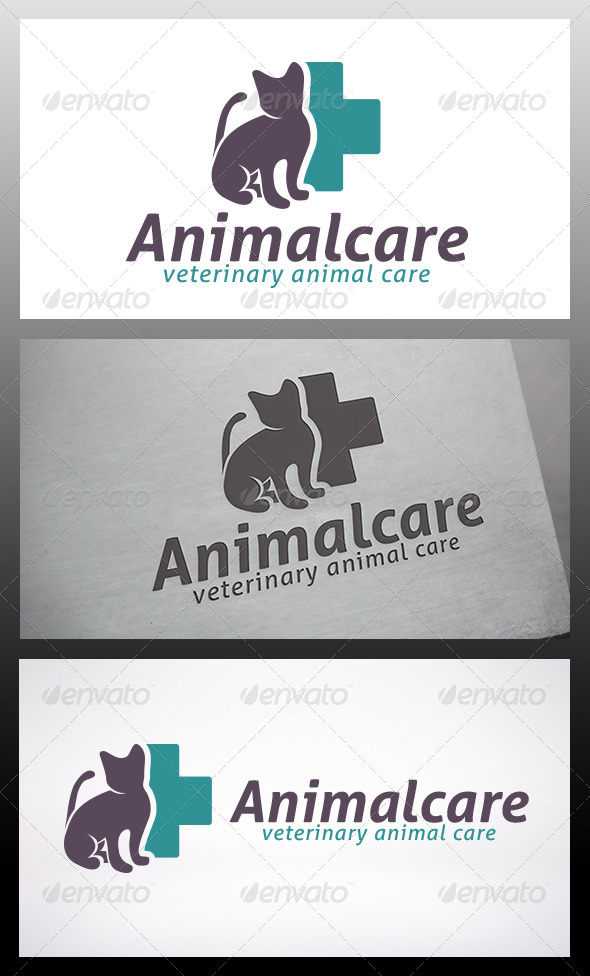 GraphicRiver Animal Care Logo 6139513