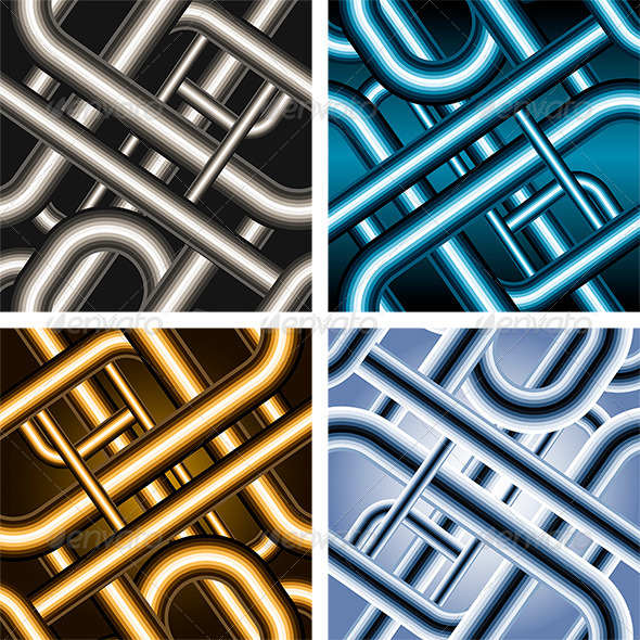 GraphicRiver Seamless Pipe Pattern 6140216