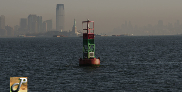 Buoy in New York City Harbor