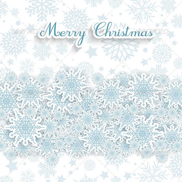 GraphicRiver Christmas Snowflakes 6140224