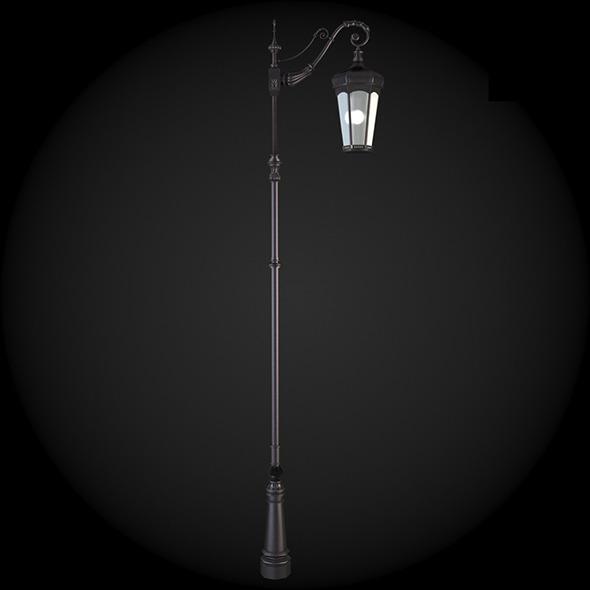 036_Street_Light - 3DOcean Item for Sale