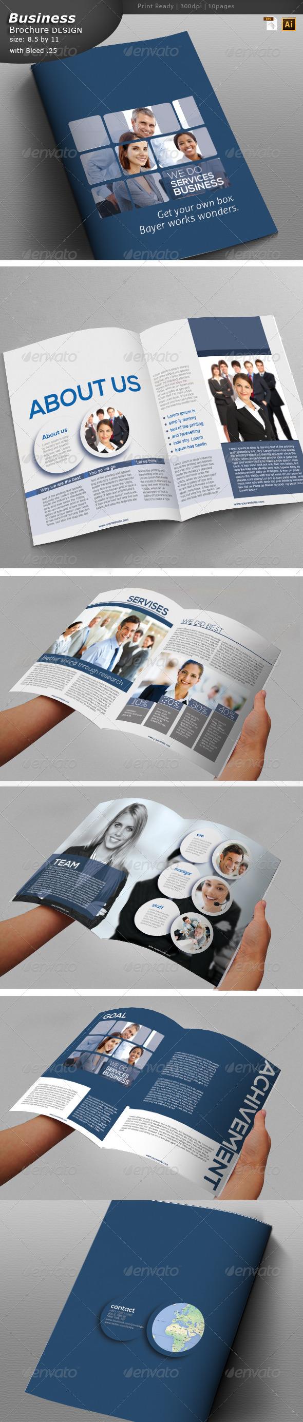 GraphicRiver Business Brochure Design 6140304