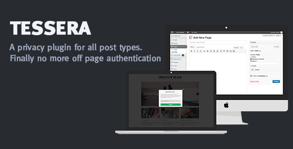 CodeCanyon Tessera a privacy plugin for all post types 6141042