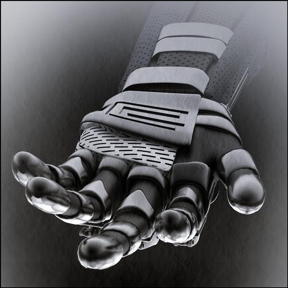 3DOcean Droid hand 6141126