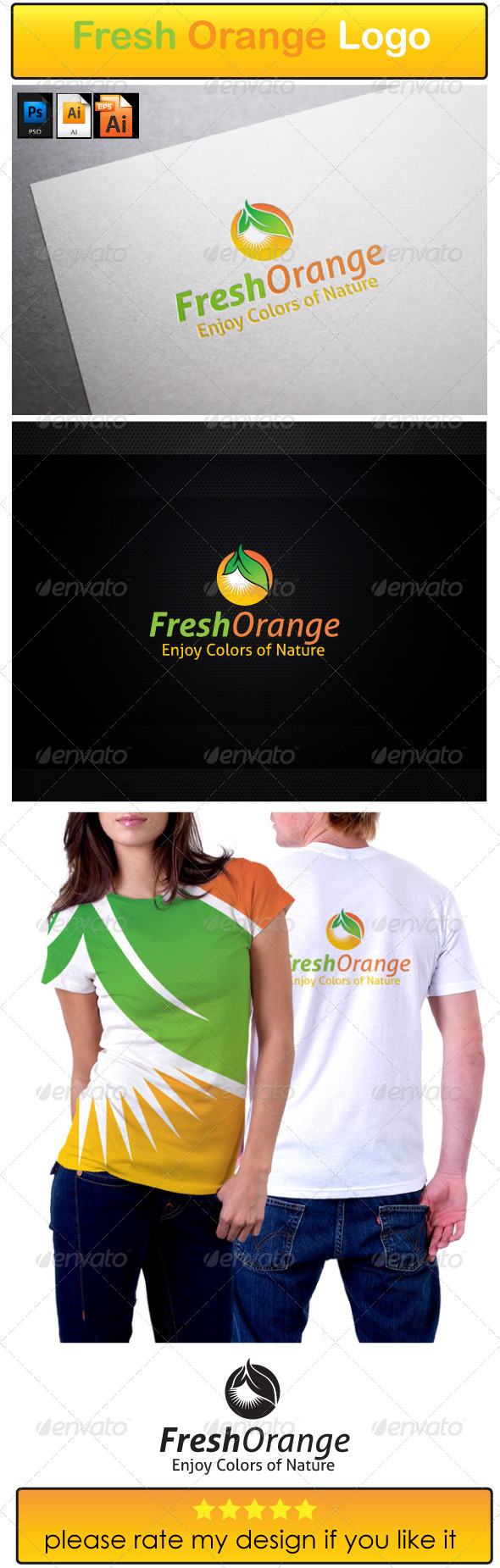 GraphicRiver Fresh Orange Logo 6141149