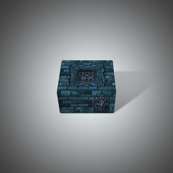 Prison Low Poly - 3DOcean Item for Sale
