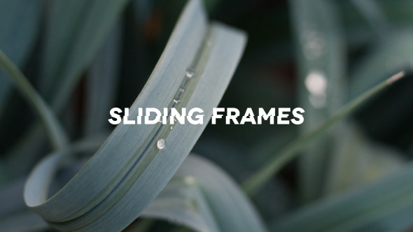 Sliding Frames Promo Opener