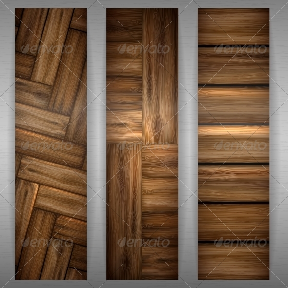 GraphicRiver Wooden Texture Banner 6143531