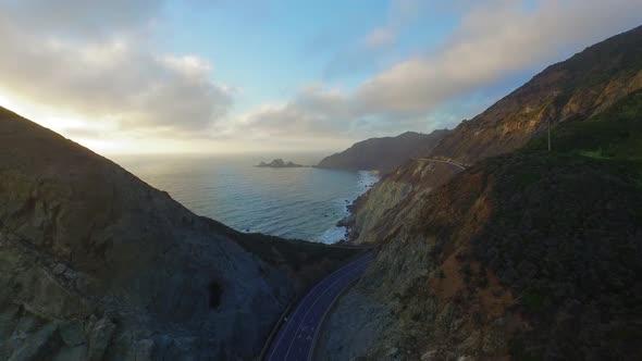 Road on the Coast