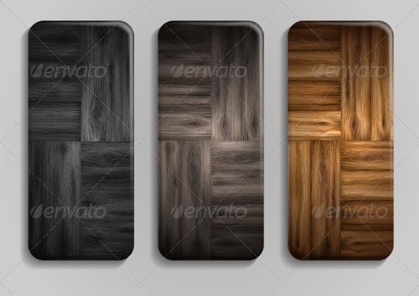 GraphicRiver Wooden Texture Banner 6143556