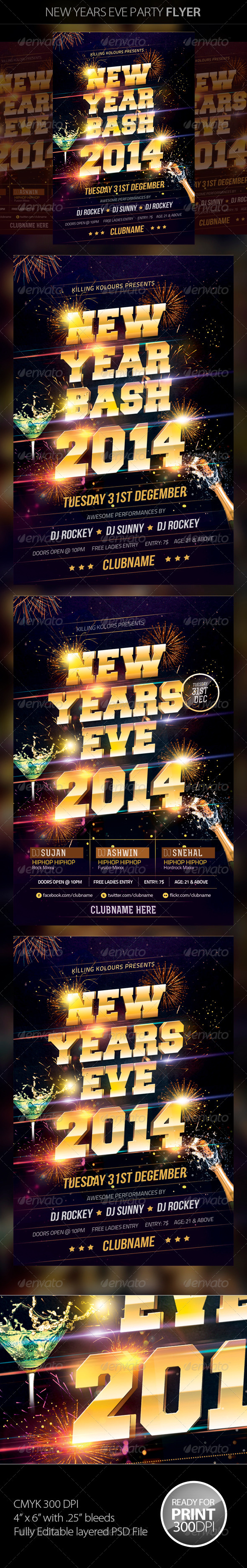GraphicRiver New Years Eve 6143639