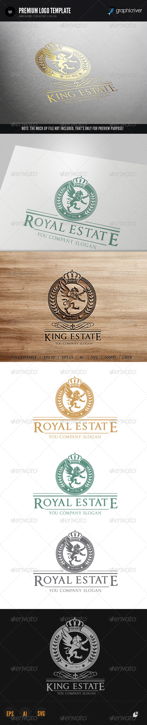 GraphicRiver King Real Estate 6144119