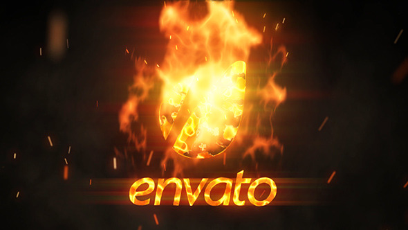 Flame Logo Reveal 6144553 - Free Download