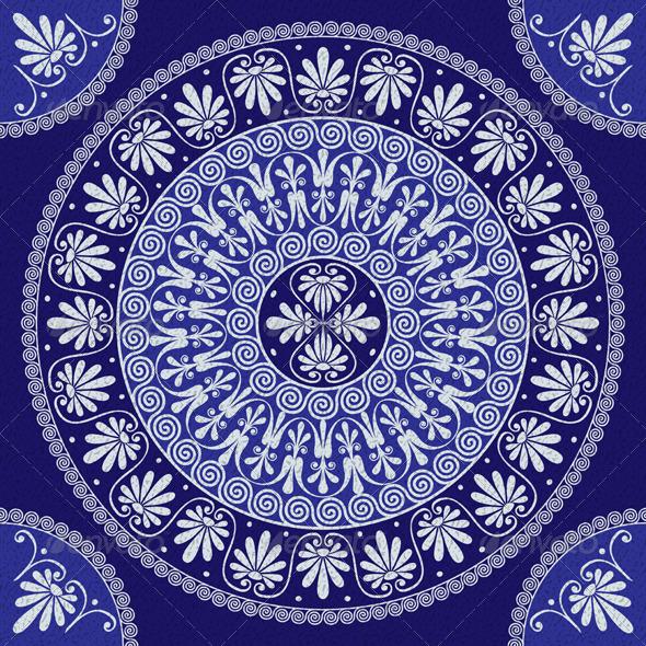 GraphicRiver Lace Vintage Greek Ornament 6144895