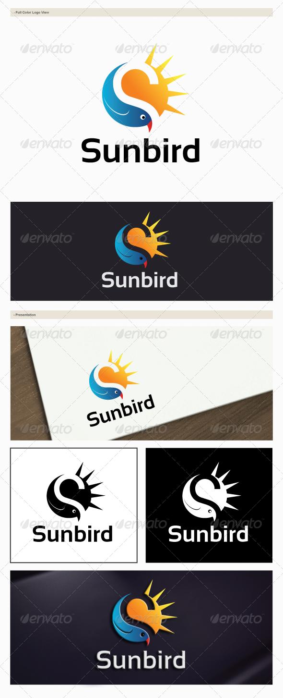 GraphicRiver Sunbird Logo 6145097