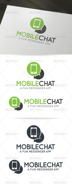 GraphicRiver Mobile Chat Logo 6145125