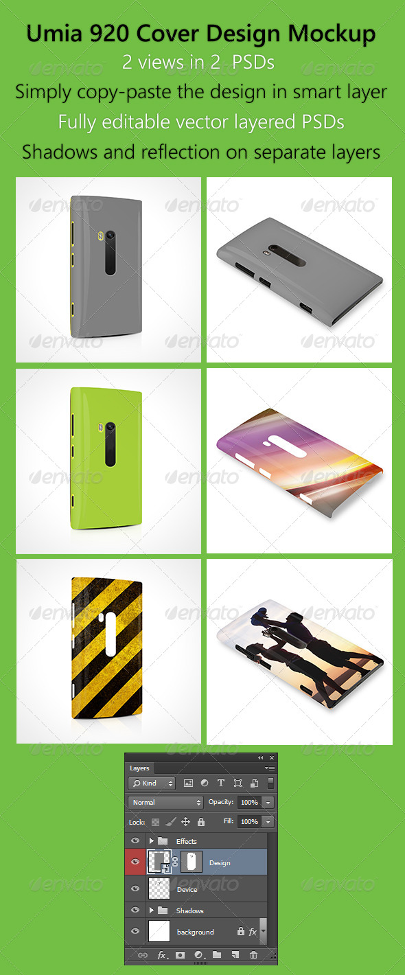 GraphicRiver Umia 920 Cover Design Mock-Up 6139019
