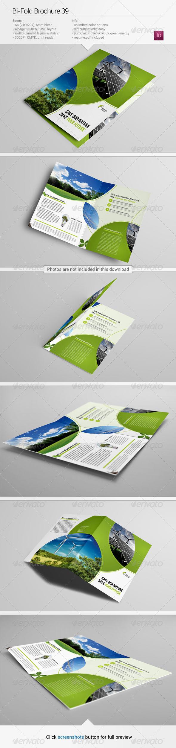 Bi fold brochure 39 informational brochures for Bi fold brochure template illustrator