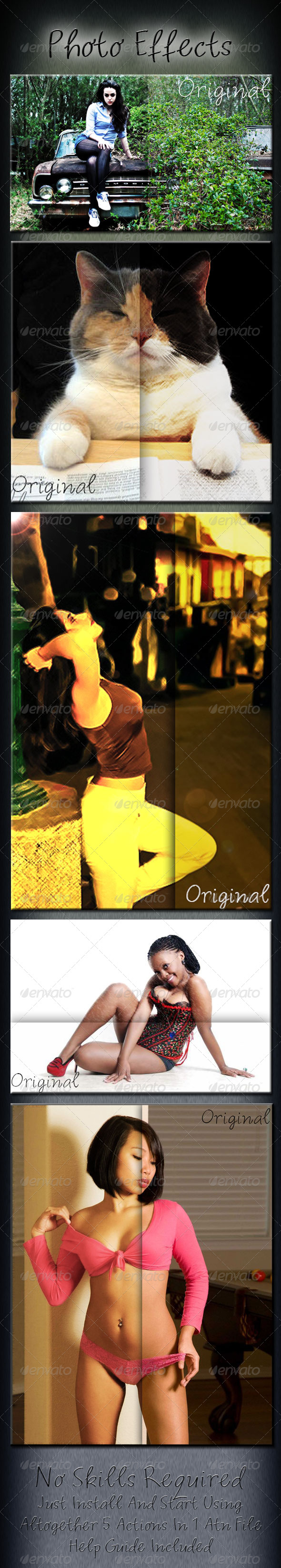 GraphicRiver Photo Effects 6135228