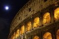 Coliseum by Night and Fool Moon - PhotoDune Item for Sale