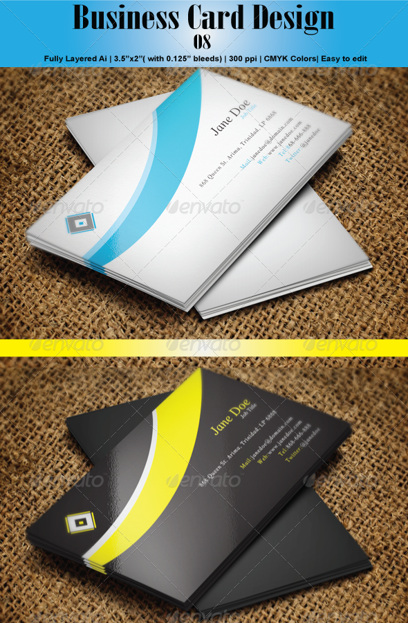 GraphicRiver Business Card 08 6146428