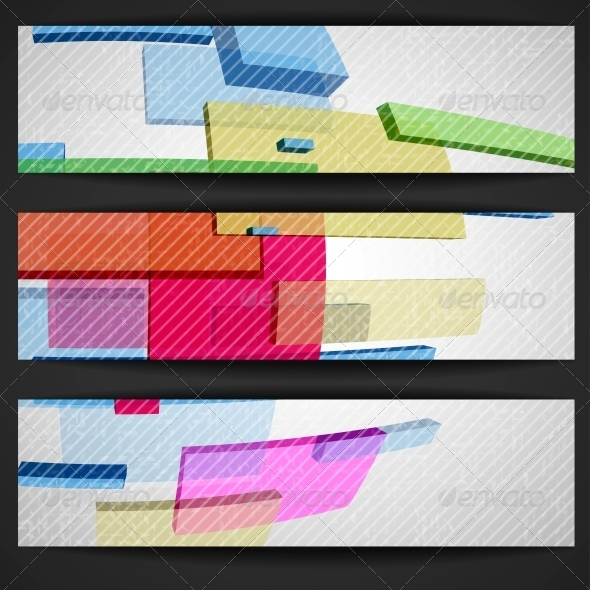 GraphicRiver Abstract Rectangle Banner 6146680
