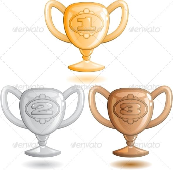 GraphicRiver Three Cups 6146801