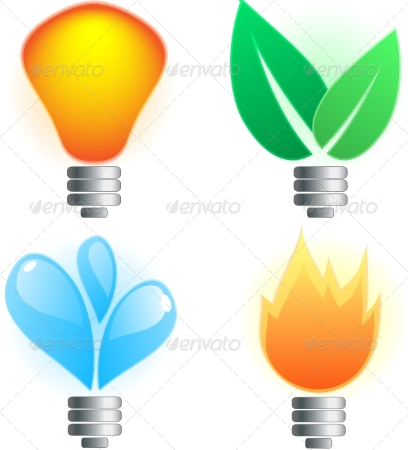 GraphicRiver Abstract Lightbulb 6146875