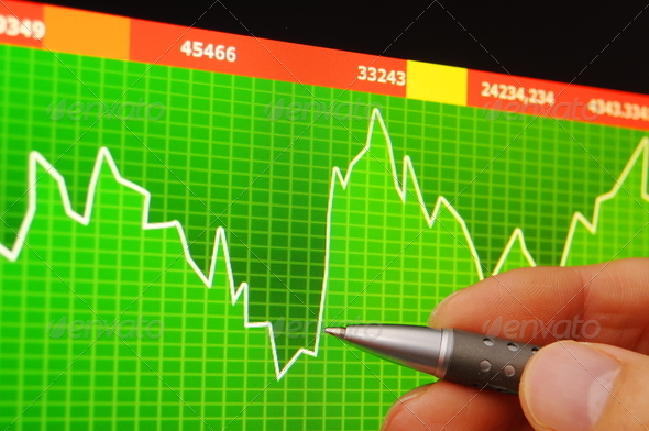 PhotoDune stock market 646935