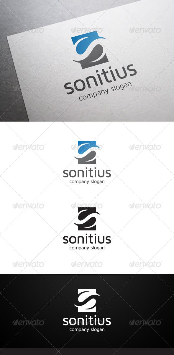 GraphicRiver Sonitius S Letter Logo 6147200