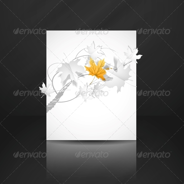 GraphicRiver Autumn Leaves Background 6147519