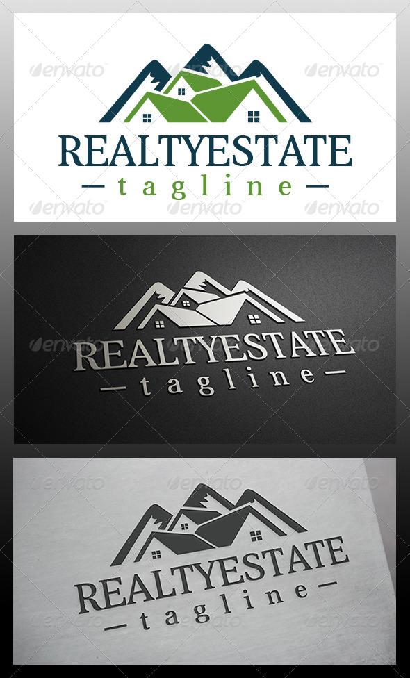 GraphicRiver Mountain House Logo 6147652