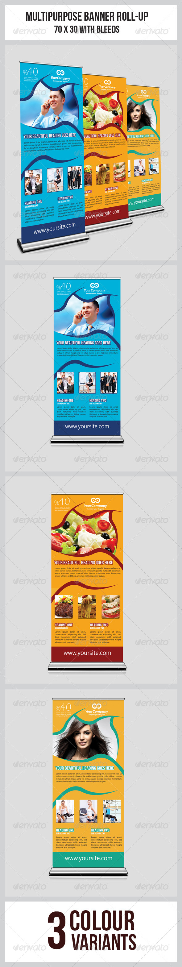GraphicRiver Multipurpose Business Roll-Up 6112004