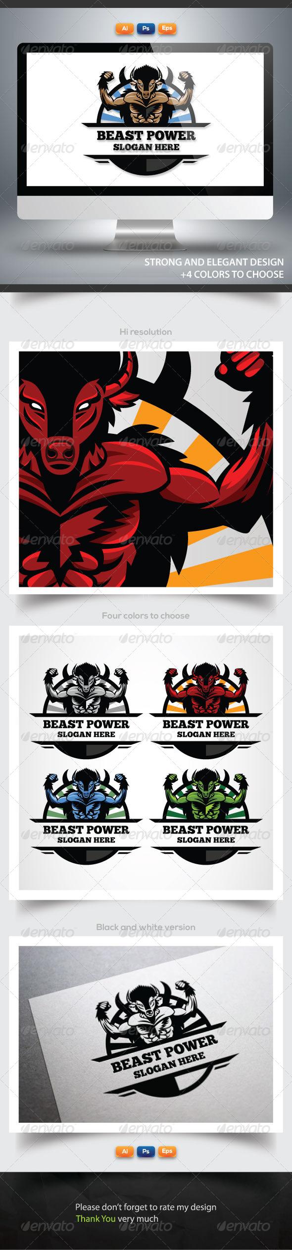 GraphicRiver Beast Power 6135911