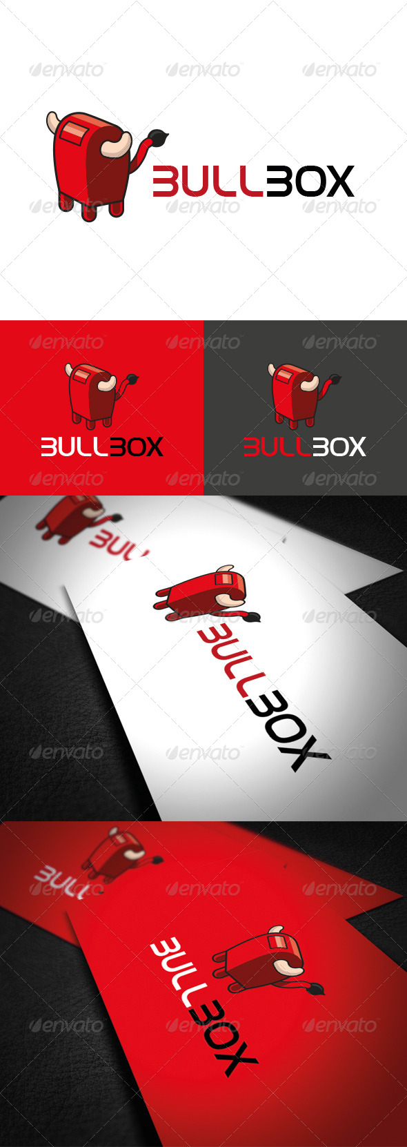 BullBox Logo - Vector Abstract