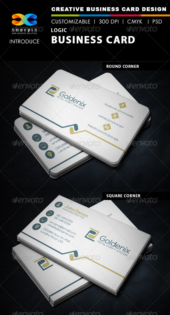 GraphicRiver Logic Business Card 6148774
