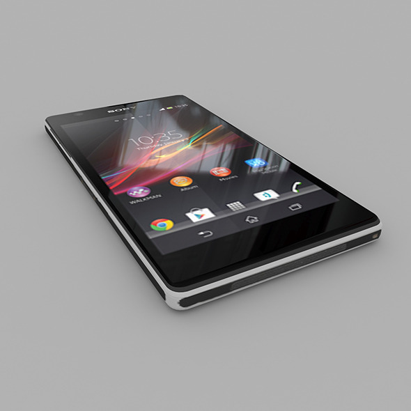 Sony Xperia Z1	 - 3DOcean Item for Sale