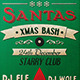 Santas Xmas Bash Flyer - GraphicRiver Item for Sale
