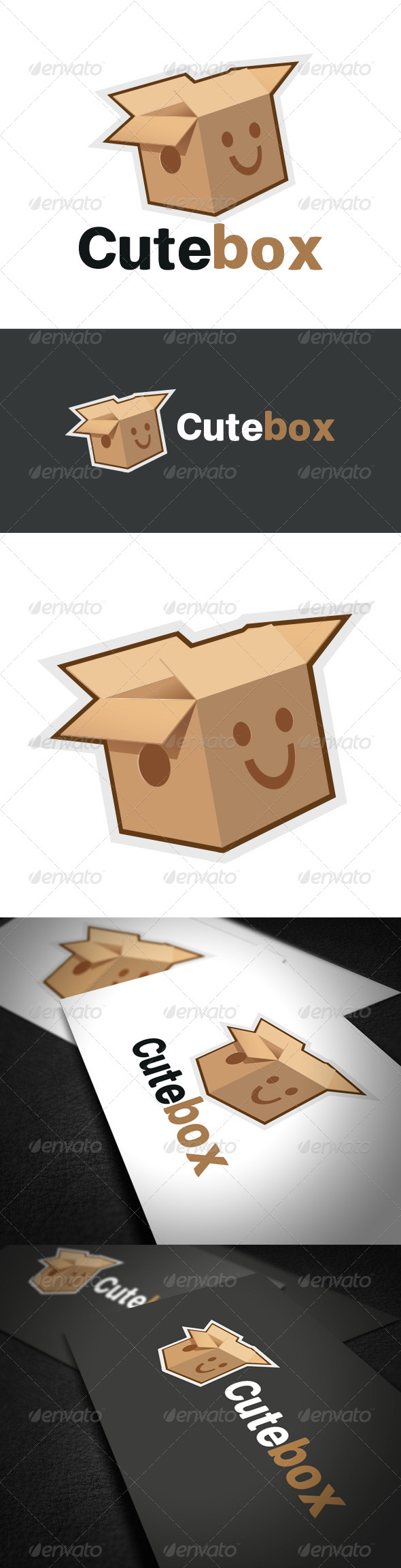 GraphicRiver Cute Box Logo 6148988