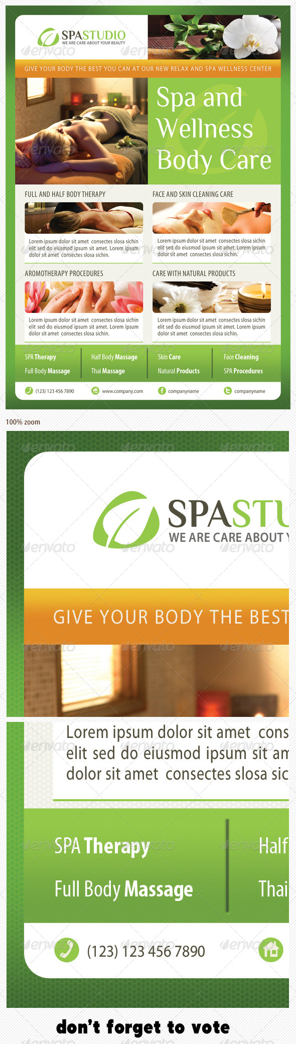 GraphicRiver Spa Studio Flyer 14 6149441