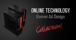 Online Technology Banner Ad Design