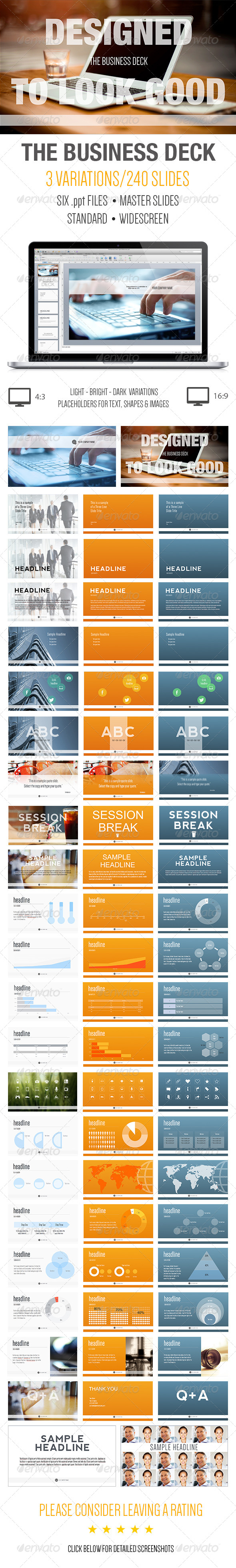 GraphicRiver The Business Deck A Powerpoint Template 6150248