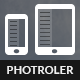 Photroller | Mobile & Tablet Responsive Template - Mobile Site Templates