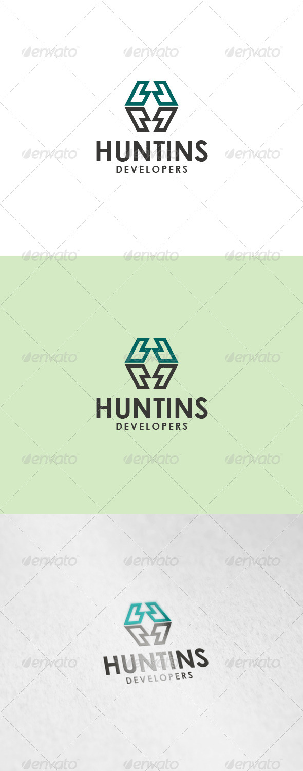 GraphicRiver Huntins Logo 6150502